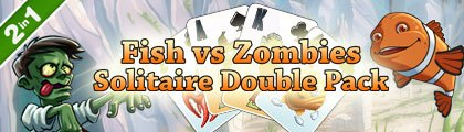 Fish vs Zombies Solitaire Double Pack screenshot