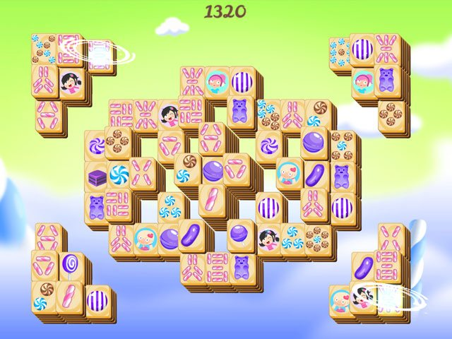 Sweet Candy Mahjong large screenshot