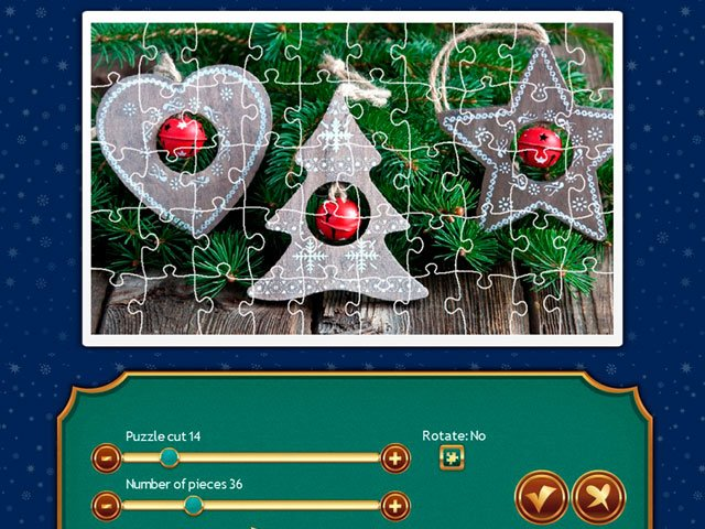 Holiday Jigsaw Christmas 4 large screenshot