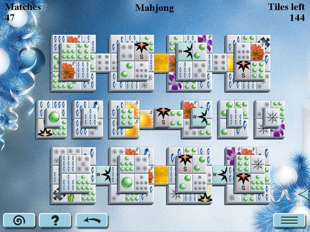 Winter Mahjong large screenshot
