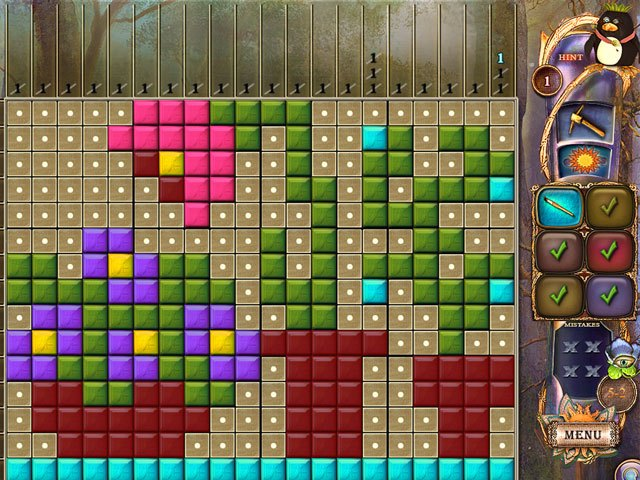 Fantasy Mosaics 20: Castle of Puzzles large screenshot
