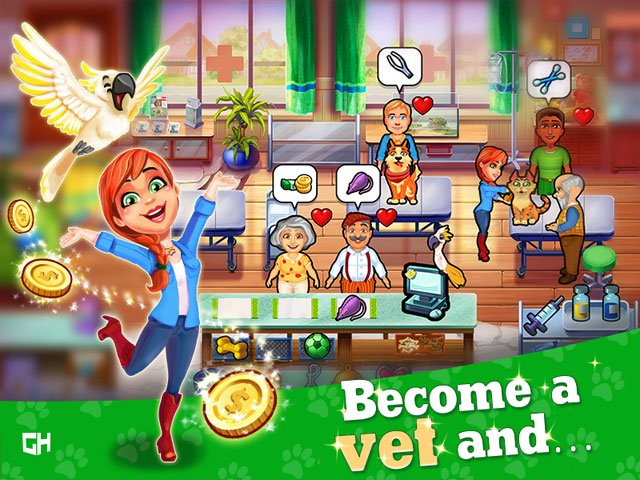 Dr. Cares - Pet Rescue 911 Platinum Edition large screenshot