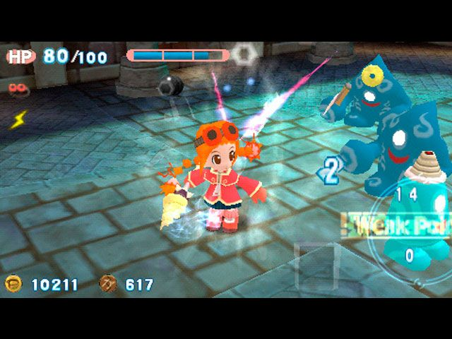 Gurumin: A Monstrous Adventure large screenshot