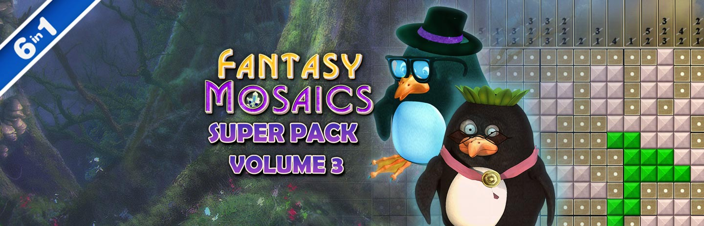 Fantasy Mosaics Super Pack - Volume 3