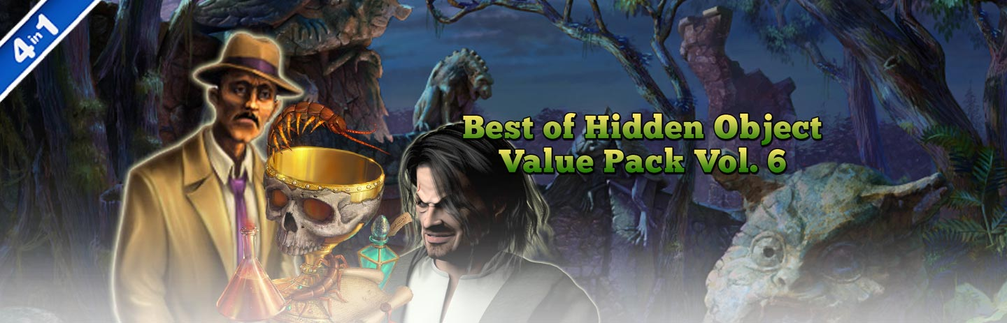 Best of Hidden Object Value Pack Volume 6