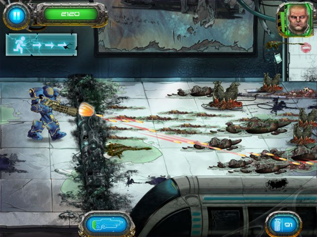 Soldier vs Aliens large screenshot