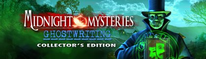 Midnight Mysteries: Ghostwriting Collector's Edition screenshot