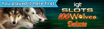 IGT Slots 100 Wolves Deluxe screenshot