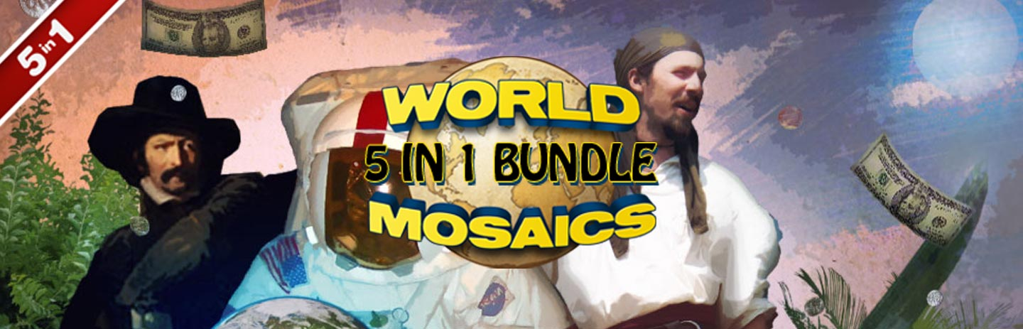World Mosaics 5-in-1 Bundle