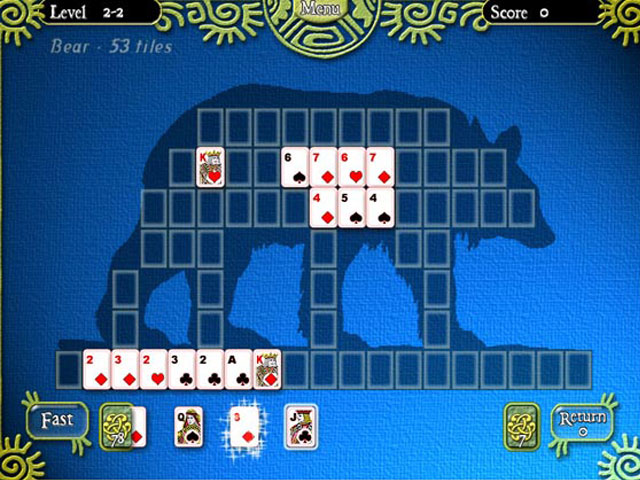 Shape Solitaire large screenshot