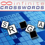 Infinite Crosswords