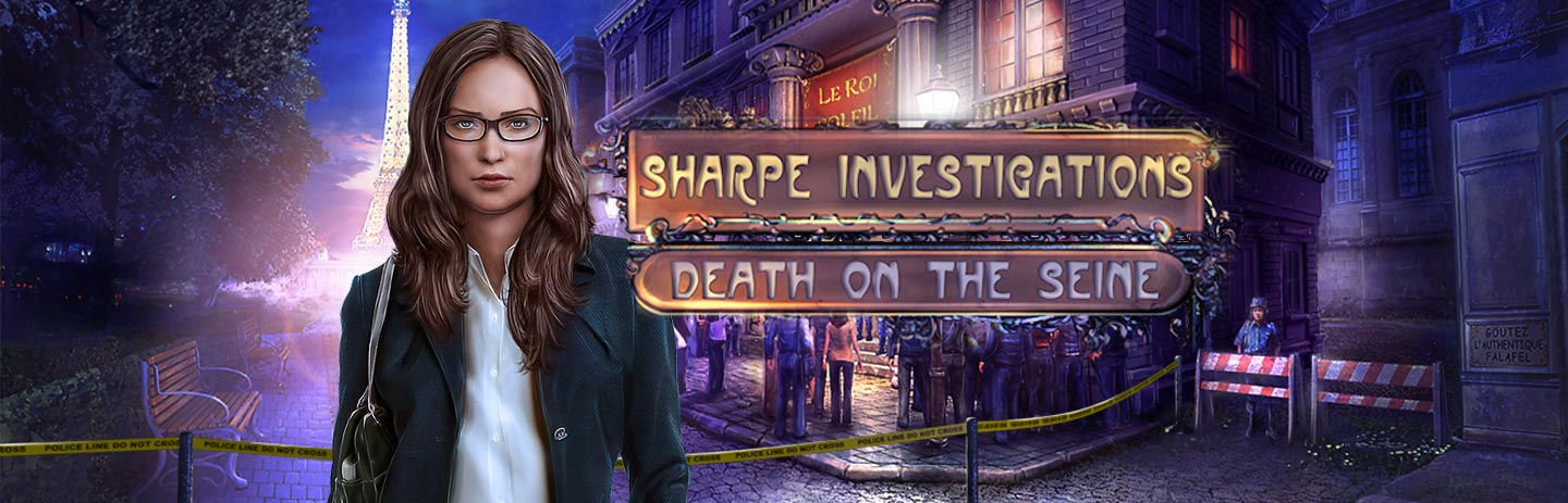 Sharpe Investigations - Death on the Seine