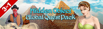 Hidden Object Global Quest 3-in-1 screenshot