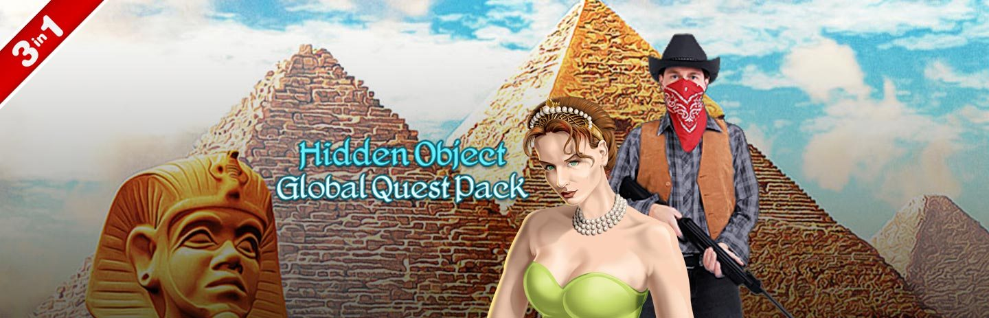 Hidden Object Global Quest 3-in-1