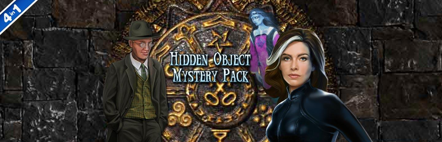 Hidden Object Mystery Pack 4-in-1