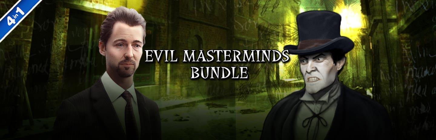 Evil Masterminds 4-in-1 Bundle