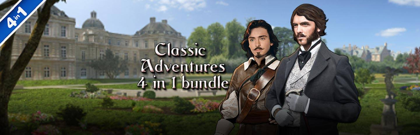 Classic Adventures 4-in-1 Bundle