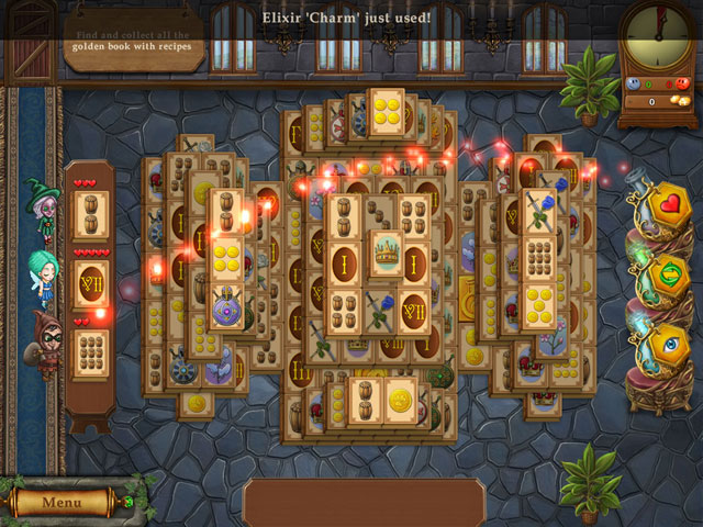 Magic Bookshop: Mahjong large screenshot