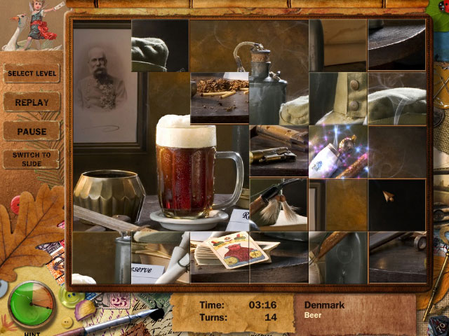Adore Puzzle 2 - Flavors of Europe large screenshot