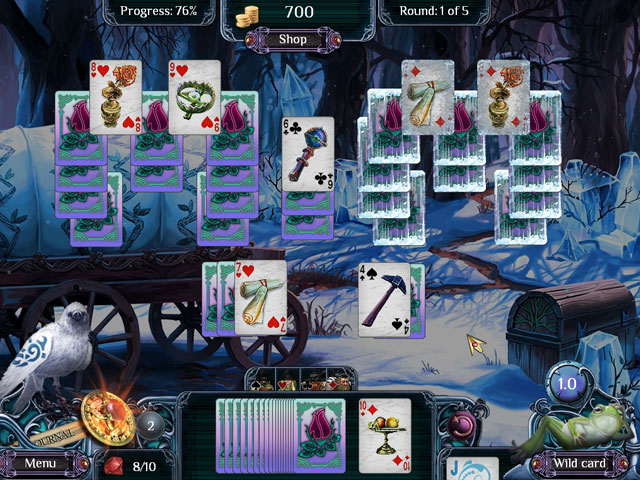 The Far Kingdoms Winter Solitaire large screenshot