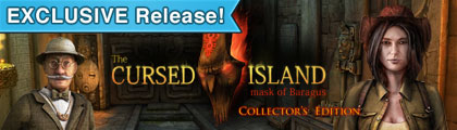 The Cursed Island: Mask of Baragus Collector's Edition screenshot