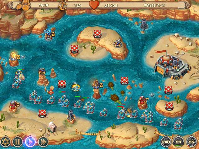 Iron Sea Frontier Defenders large screenshot