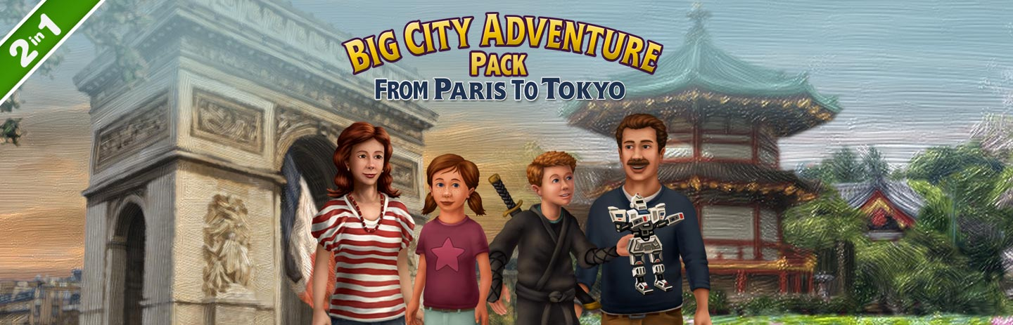 Big City Adventure Value Pack - From Paris to Tokyo