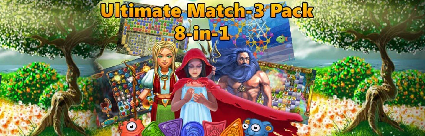 Ultimate Match-3 Pack 8-in-1