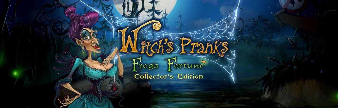 Witch's Pranks - Frog's Fortune Premium Edition