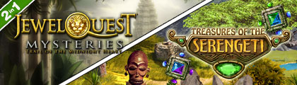 Treasures of the Serengeti with Jewel Quest Mysteries 2 screenshot
