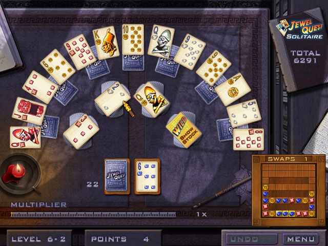 Jewel Quest Solitaire with Dream Vacation Solitaire large screenshot