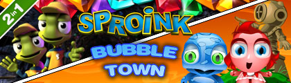 Bubble Town with Sproink screenshot