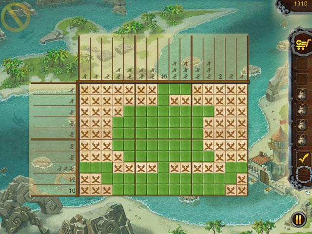 Fill and Cross: Pirates Riddles Screenshot 1