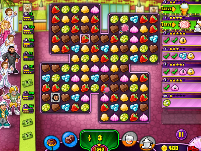 Sweet Shop Rush large screenshot