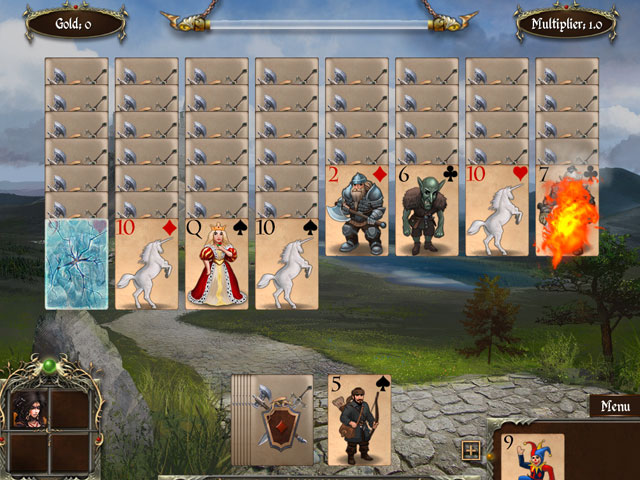 Legends of Solitaire: Curse of the Dragons large screenshot