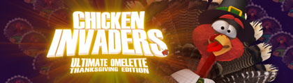 Chicken Invaders: Ultimate Omelette - Thanksgiving Edition screenshot