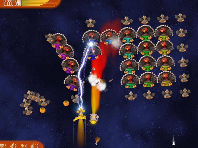 Chicken Invaders: Ultimate Omelette - Thanksgiving Edition Screenshot 1