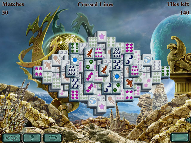 Space Mahjong large screenshot