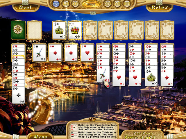 Dream Vacation Solitaire large screenshot