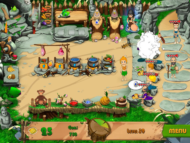 Stone Age Cafe Screenshot 1