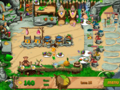 Stone Age Cafe Screenshot 3