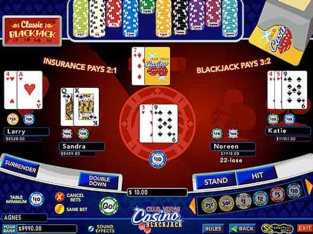 Club Vegas Blackjack large screenshot