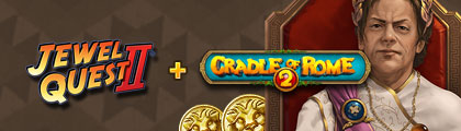 Cradle of Rome 2 & Jewel Quest 2 Matchmakers Dream Bundle screenshot