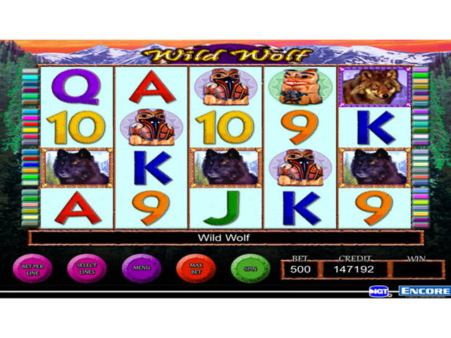 IGT Slots Wild Wolf large screenshot