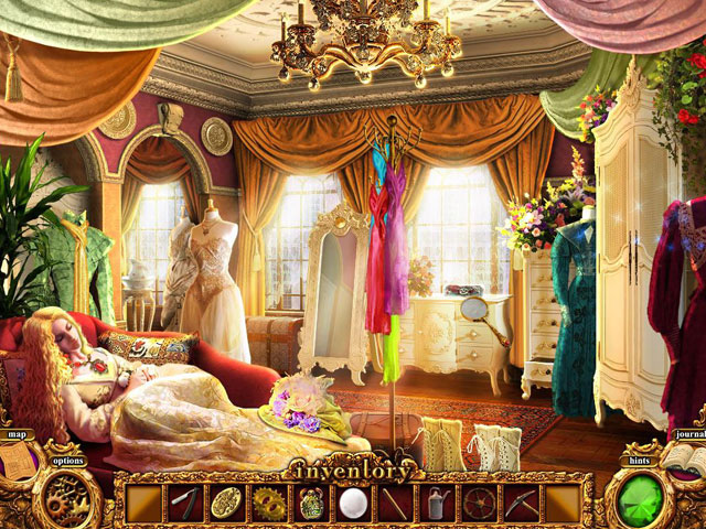 Mystery Murders: The Sleeping Palace Screenshot 1