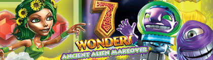 7 Wonders: Ancient Alien Makeover Collector's Edition screenshot
