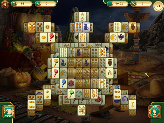 Spooky Mahjong large screenshot