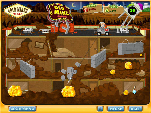 Gold Miner Vegas Screenshot 1