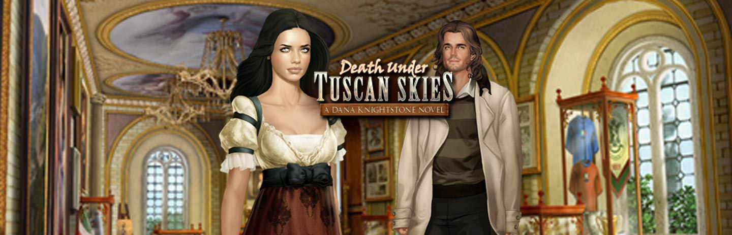 Death Under Tuscan Skies - A Dana Knightstone Novel