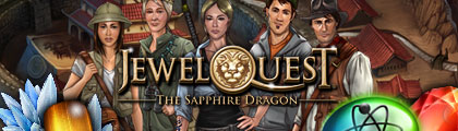 Jewel Quest: The Sapphire Dragon screenshot